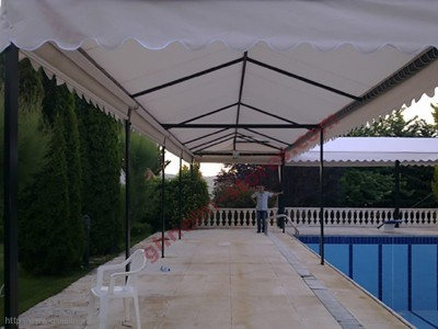 Sample Tents Curtains - صور برادي خيم