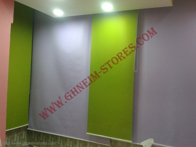 Sample Rool Up Curtains - صور برادي روول آب