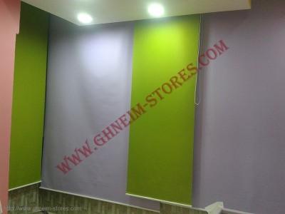 Sample Rool Up Curtains - صور برادي روول آب